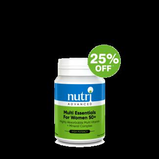 Multi Essentials For Women 50+ Multivitamins 60 Tablets