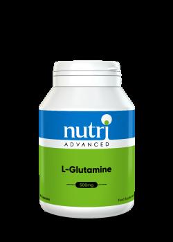 L-Glutamine 500mg Capsules