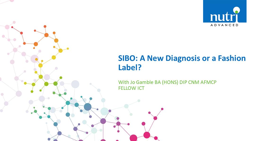SIBO: A New Diagnosis or a Fashion Label?