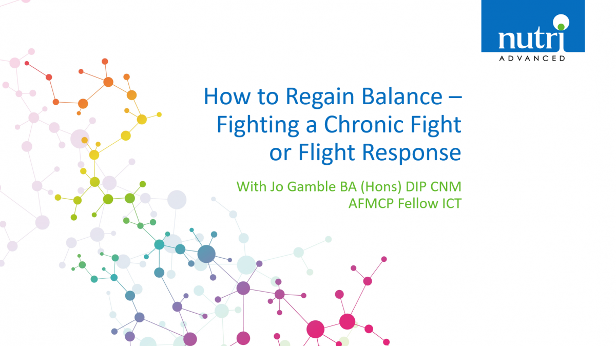 How To Regain Balance - Fighting a Chronic Fight or Flight Response