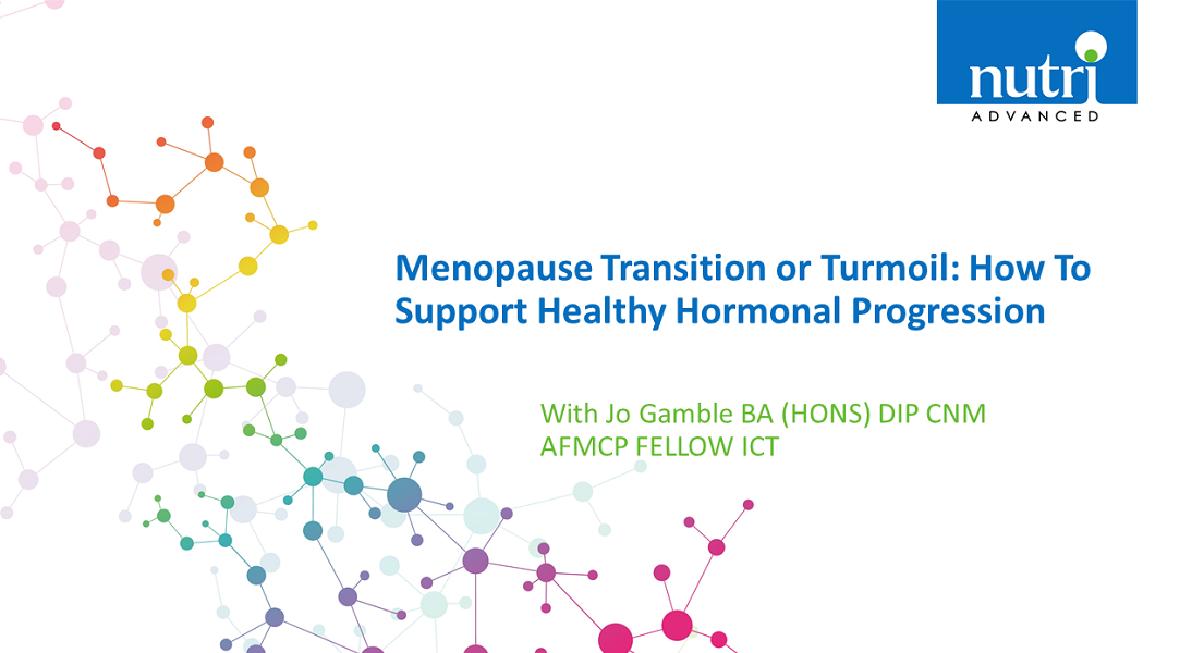 Menopause Transition Or Turmoil: How To Support Healthy Hormonal Progression