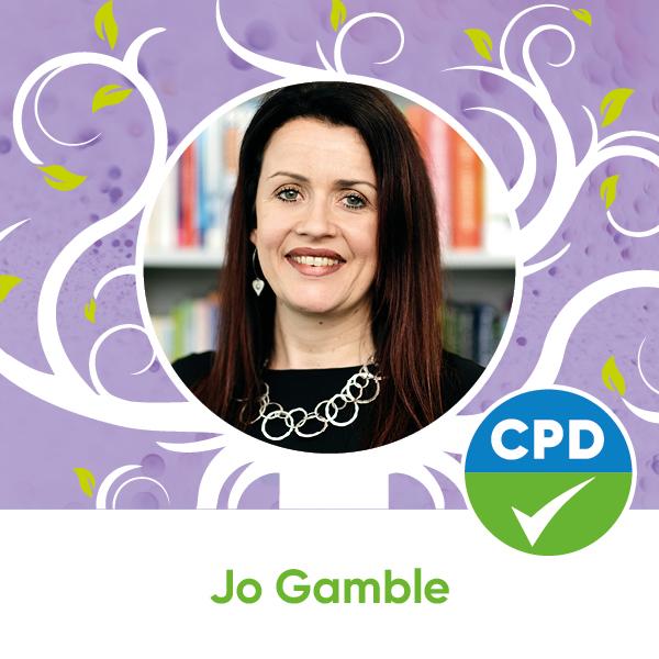 Watch webinar presented by Jo Gamble
